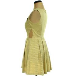 Sárga szürke ruha