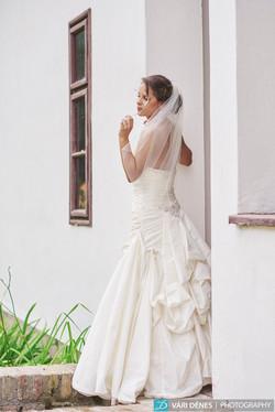 Alíz  menyasszonyi fátyol