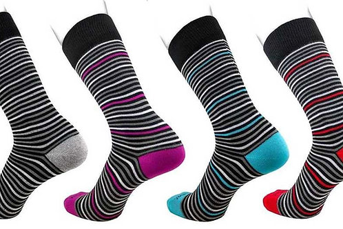 Medium Dress Socks Striped