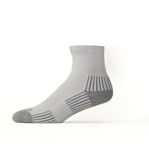 Bamboo Diabetic Quarter Sock White