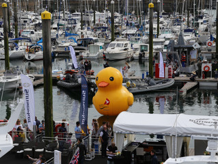 Barclays Jersey Boat Show 2017 delivers, despite the damp weather