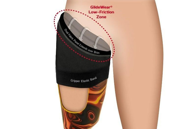 GlideWear Above-Knee Amputee Prosthetic Brim Sheath