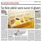 Cours de cuisine sans sucre ni gluten - Claude Berdoz