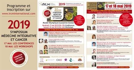Programme symposium IRCM médecine intégrative et cancer