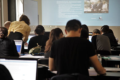 Réunion information formation numérique.