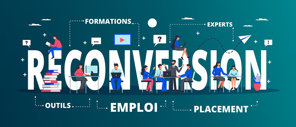 Formations en reconversion vers les métiers de l'informatique.