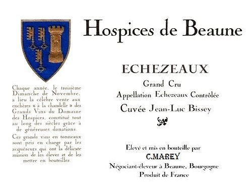 Echezeaux Cuvee Jean-Luc Bissey C.Marey Liger Bel Air