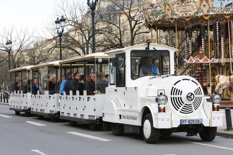 Train électrique de Bordeaux