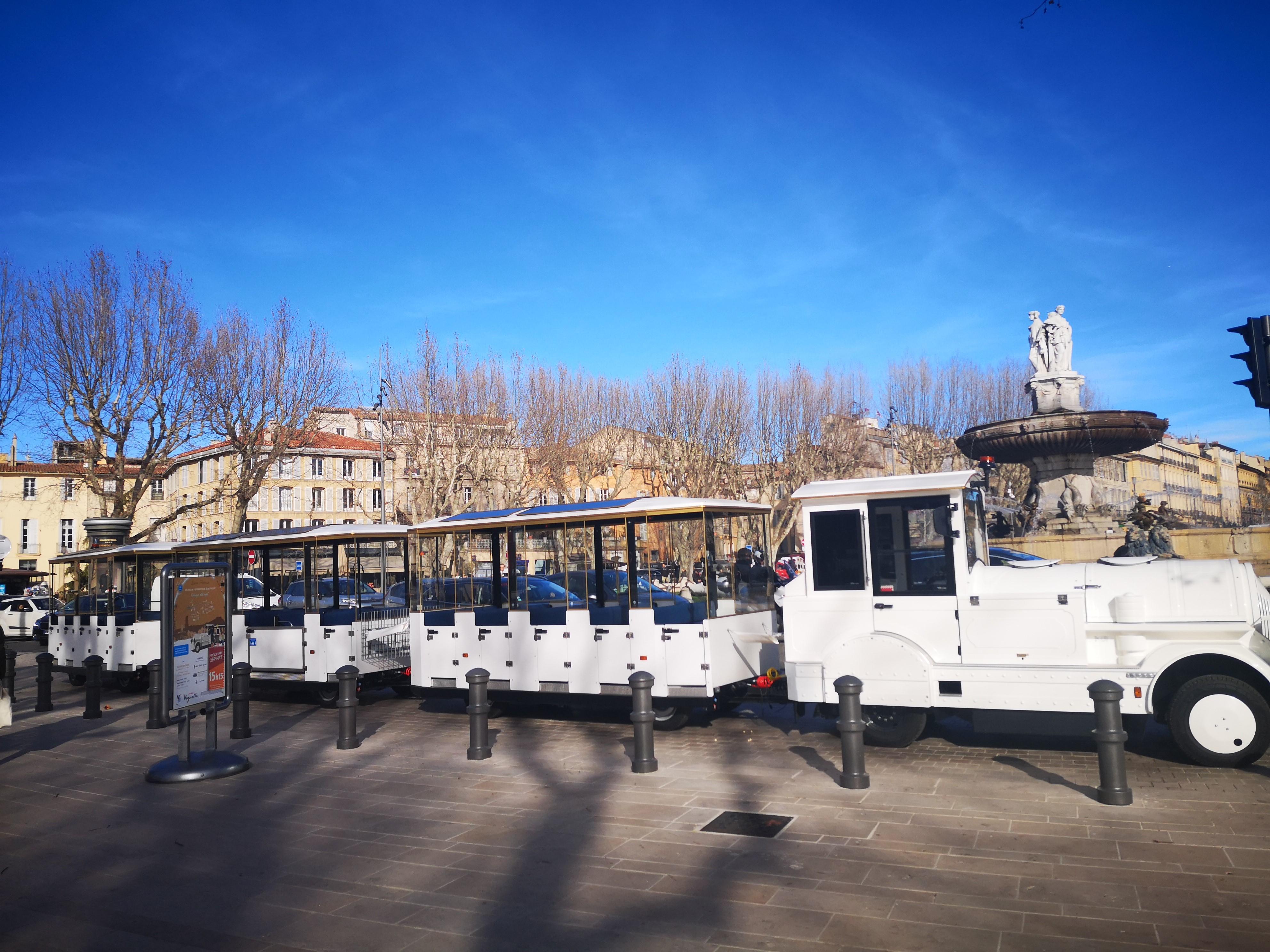 Train électrique d'Aix-en-Provence