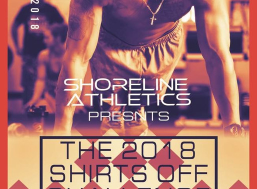 Shirts-Off Challenge 2018: Details and Rules