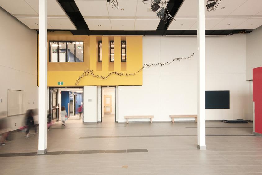 École primaire Du Domaine, Québec. 2017