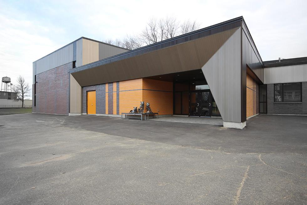 École primaire de Louiseville pavillon Jean-XXIII – Louiseville 2015