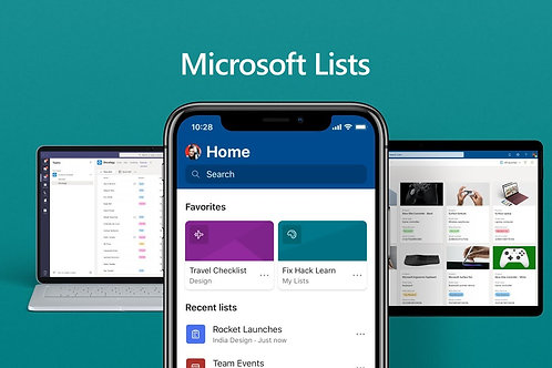 Track Anything with MS Lists