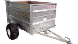 Logic TGT400 High-Sided Tipping Trailer