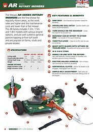AR180 Rotary Mower 1.8m