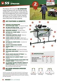 BS618 ATV Liquid Brine Sprayer