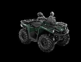 Outlander 450 XU T T3b - over 60km/h
