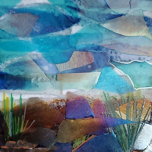 Dunes Glass Collage