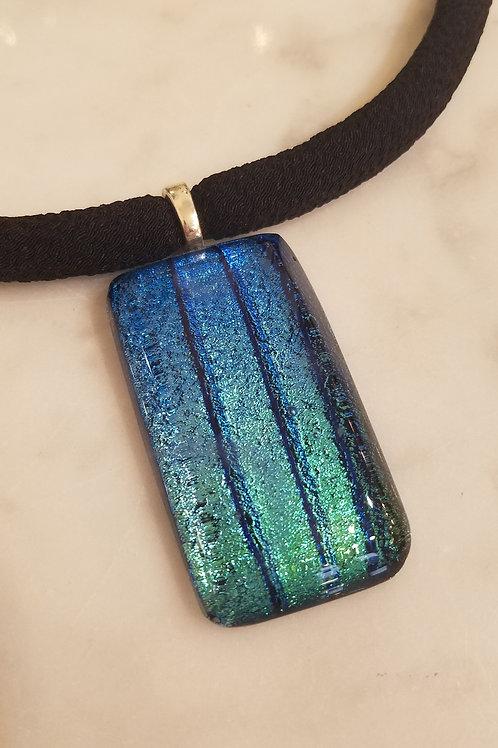 Glass Pendant w/obi Chord
