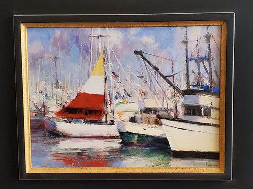 Afternoon Light, Newport Harbor