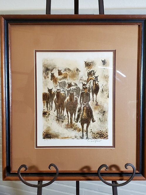 Western Painting by Cooper - Title Unknown