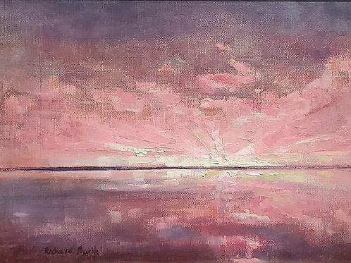 Horizon in Cool Reds