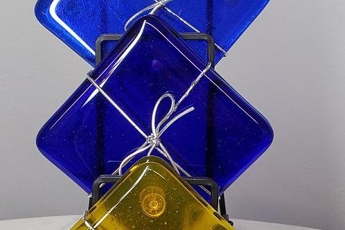 Cobalt Blue Coaster