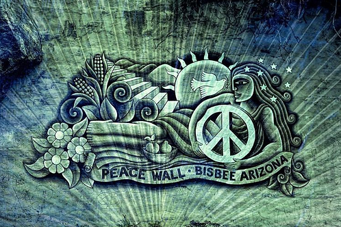 Bisbee Peace Wall