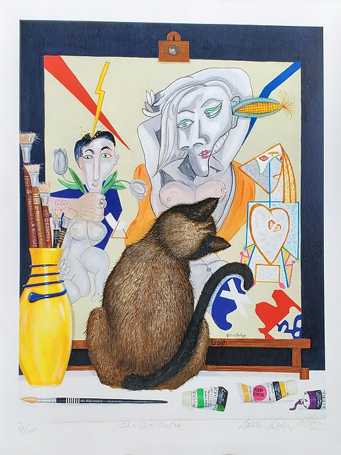 The Art Critic by Bill W. Dodge