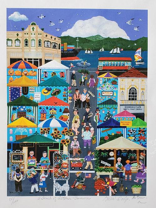 A Story of Astoria - Summer by Bill Dodge