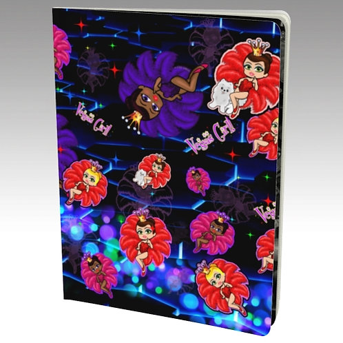 Vegas Girl Notebook Book