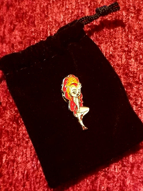 Vegas Girl!™ Limited Edition Exclusive pin with Velvet Bag