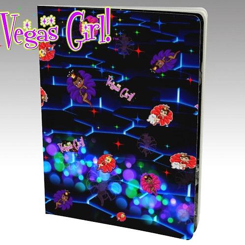 New Vegas Girl Notebook Book