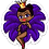 Thumbnail: Purple Vegas Girl Stickers
