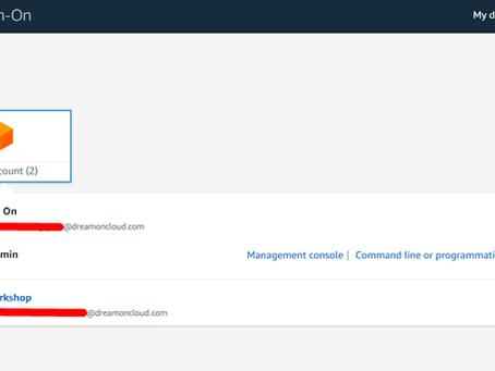 AWS Organization con múltiples cuentas y SSO