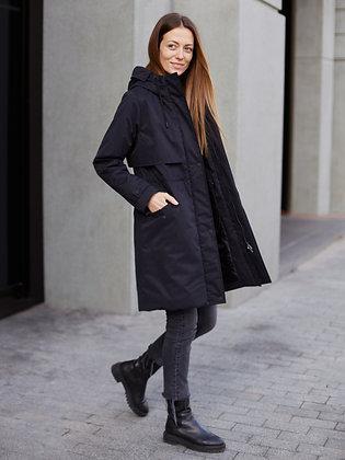 """Куртка """"Парка"""" черный"""