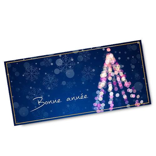 Carte de vœux personnalisée