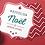 Thumbnail: Carte de vœux à forme personnalisée