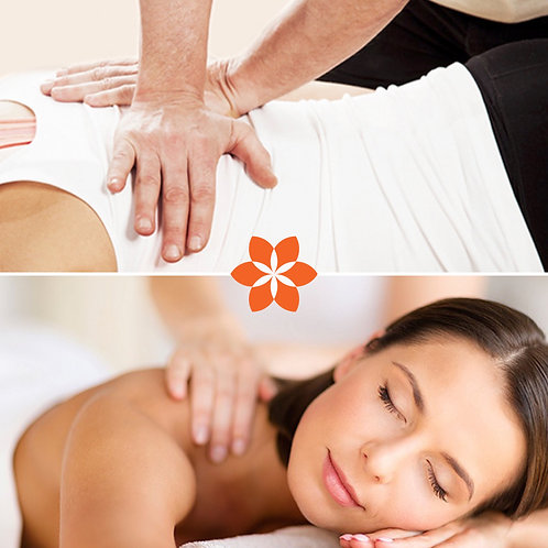 One Hour Swedish Massage and Adjustment Package