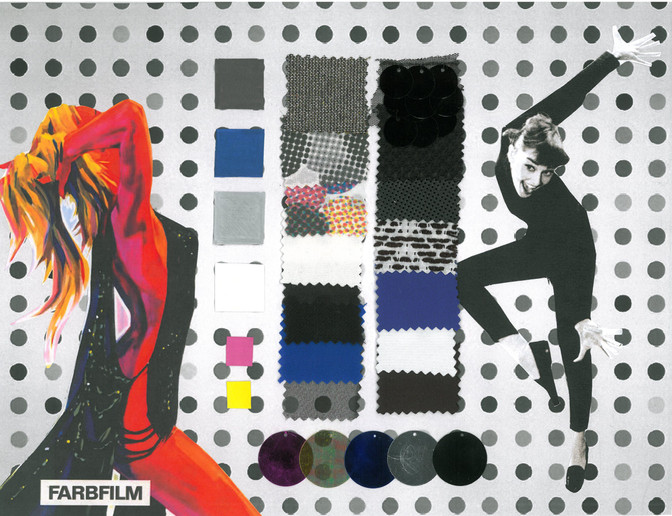 Blow-Up Mood and Fabric Board