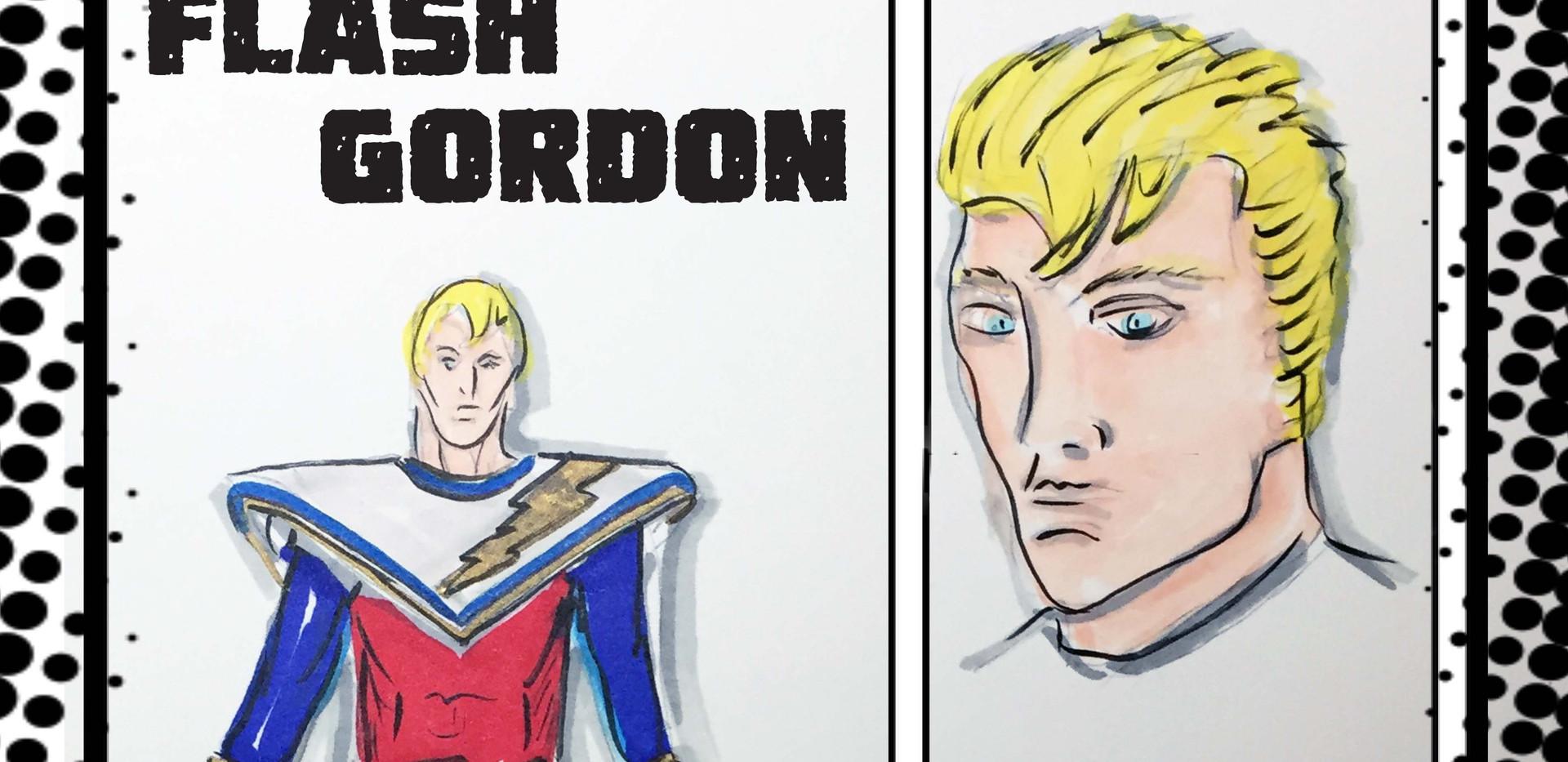 Film Design for Flash Gordon