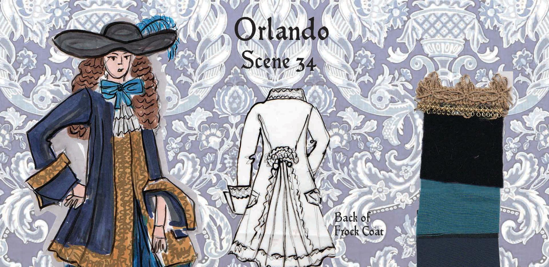 Film Costume Project for Period Drama Orlando
