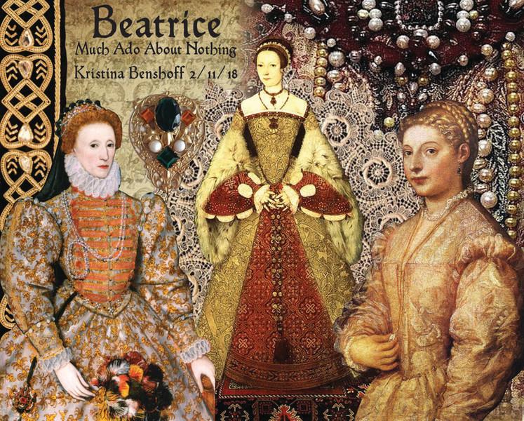 Renaissance Costume Construction Collage