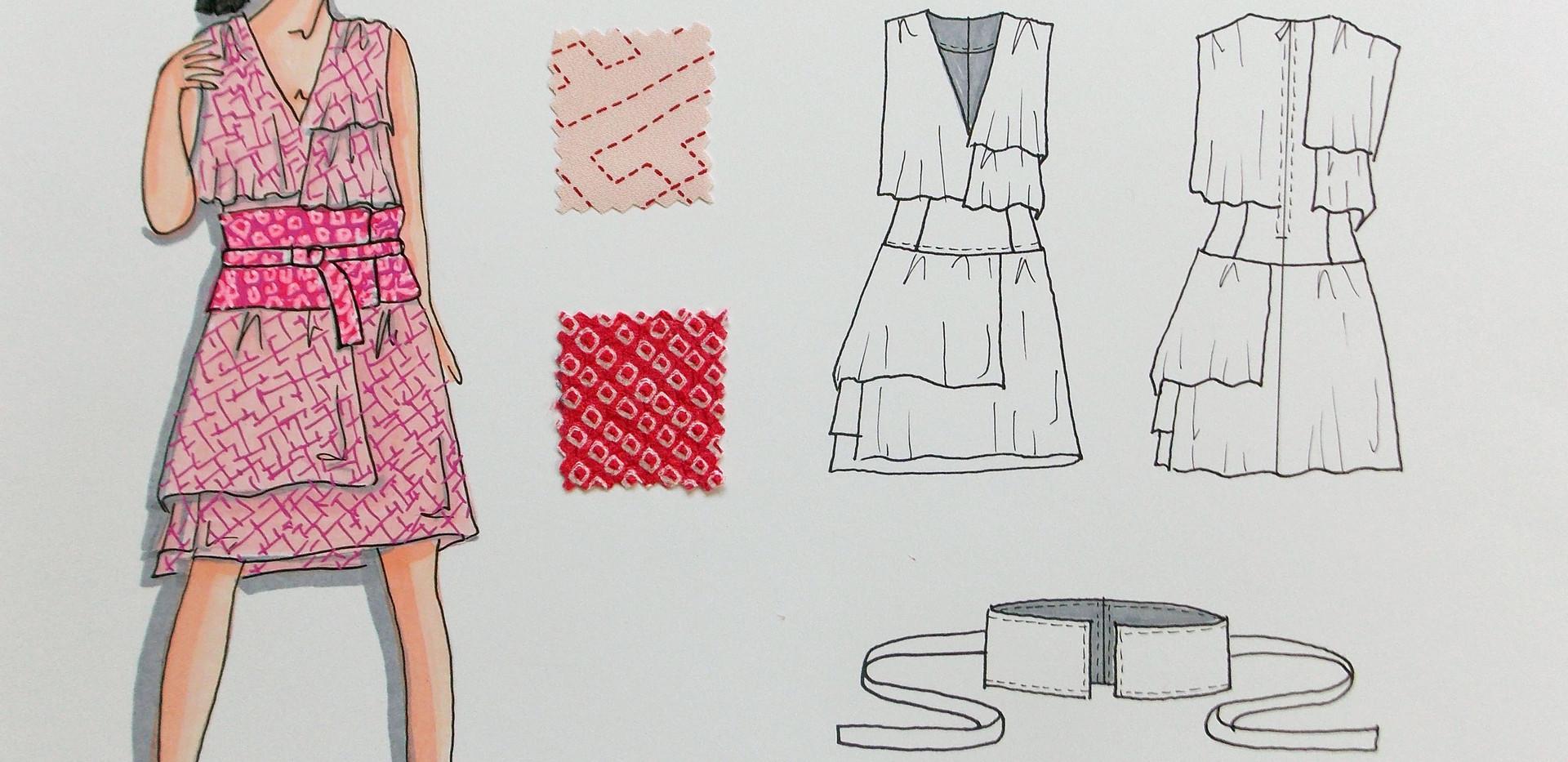 Sayonara Flat designs