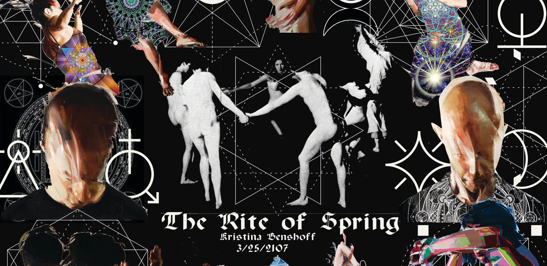 Dance Design Project for The Rite of Spring Choreographed by Pina Bauch