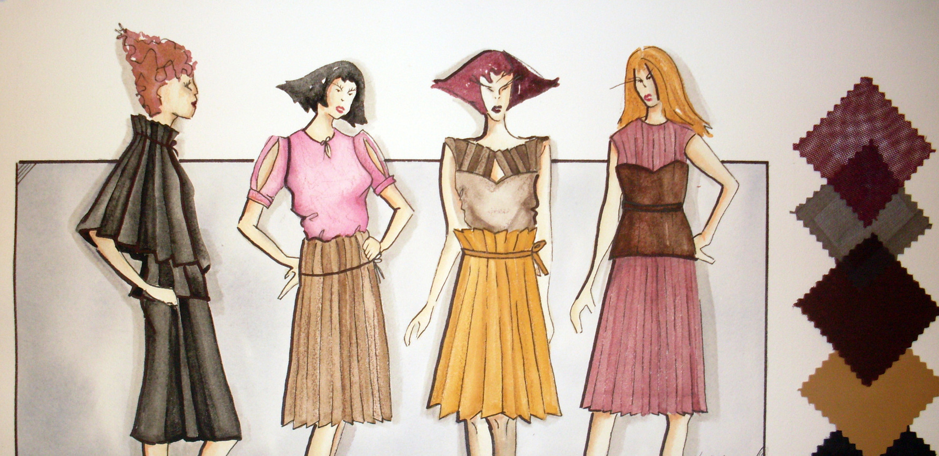 Work from my BFA in Fashion Design from SCAD
