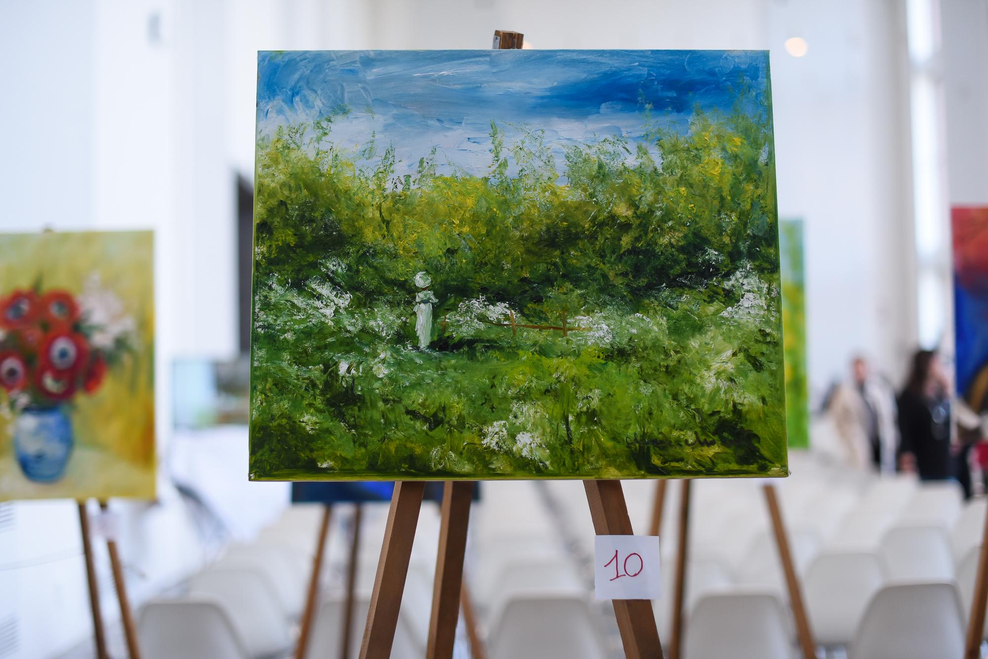 10 Claude Monet 50x60