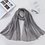 Thumbnail: Crinkle Hijab  Solid Cotton
