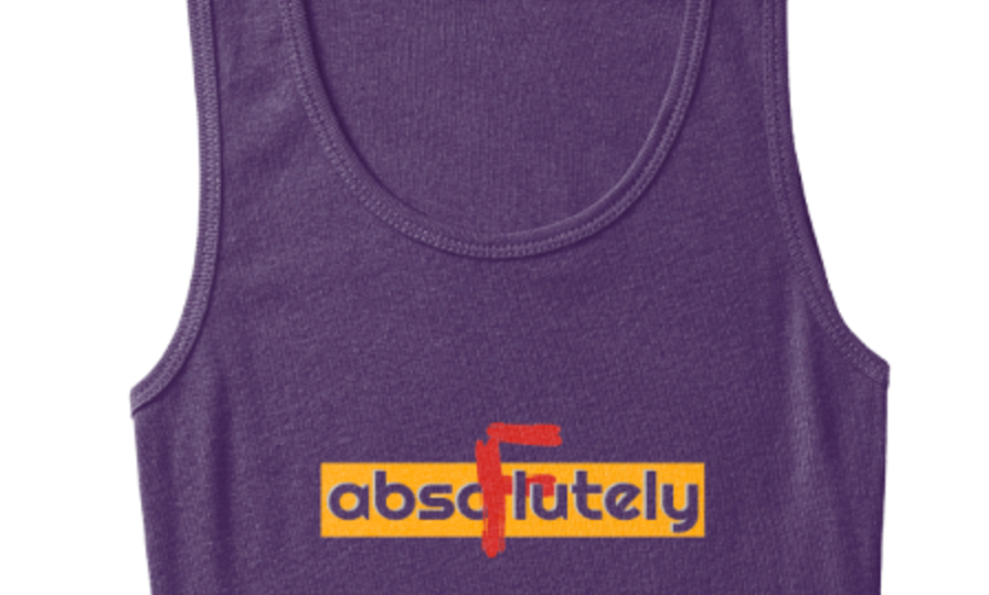 Woman's abso.f.lutely tank top