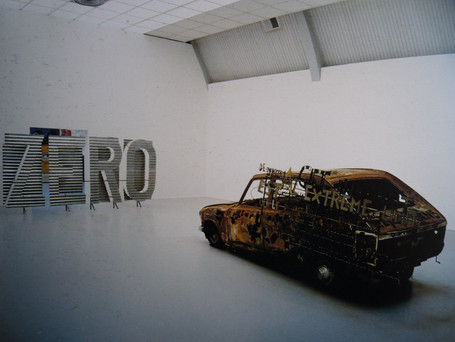 Richard Baquié, Epsilon, 1986, Collection Jean Brolly, Paris